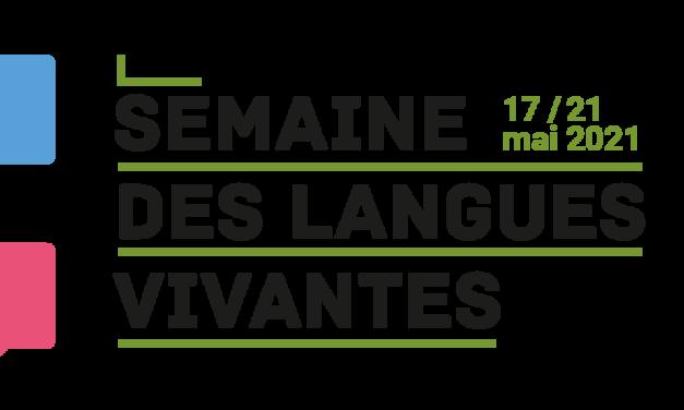 SEMAINES DES LANGUES VIVANTES 2021