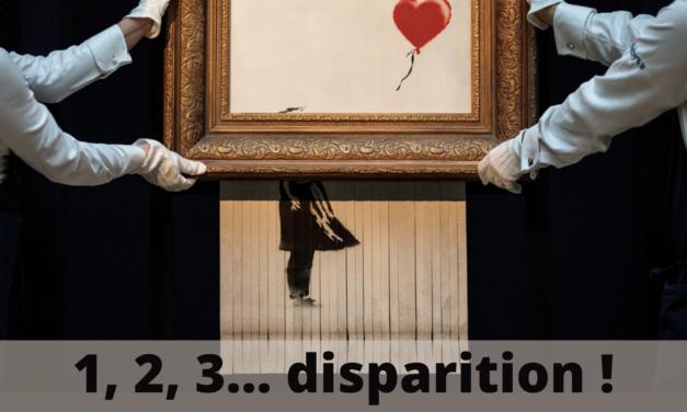 1, 2, 3… DISPARITION !