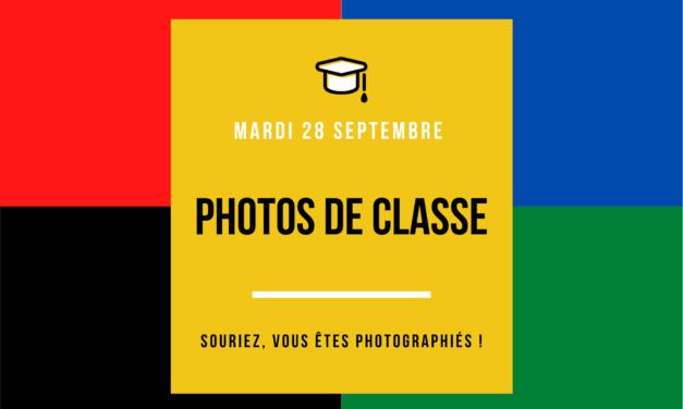 PLANNING PHOTOS DE CLASSE